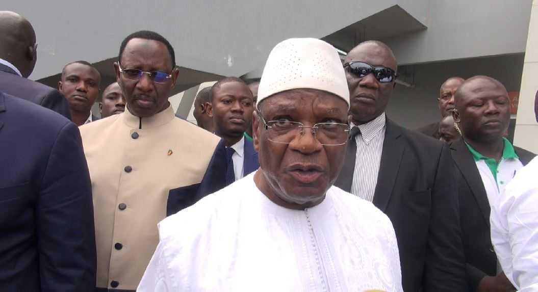 Présidentielle au Mali: Ibrahim Boubacar Keïta tient un meeting à Libreville