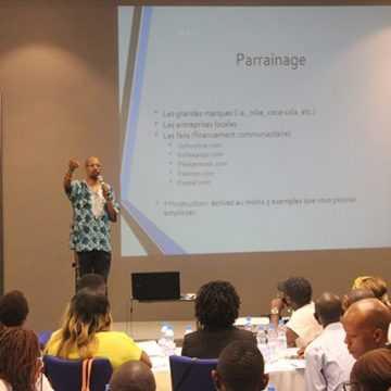 Entrepreneuriat culturel : Les artistes gabonais à l'écoute de Kenny Wesley