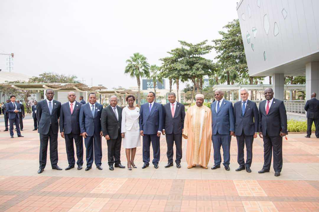 Ali Bongo Ondimba et ses pairs satisfaits de la situation sécuritaire dans la CEEAC, la SADC et les Grands lacs.
