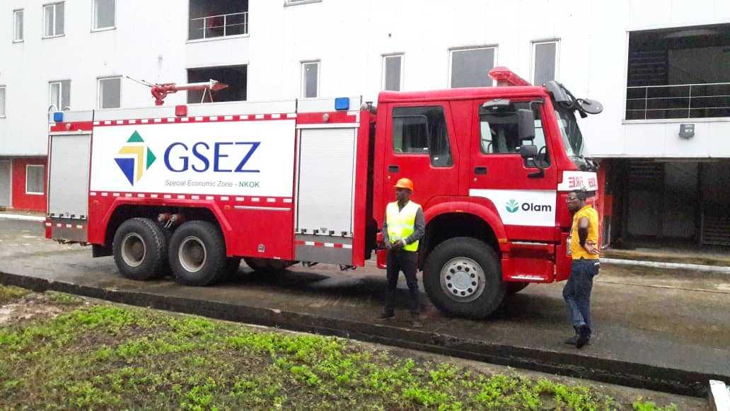 Deux casernes de sapeurs pompiers inaugurées à Nkok et Owendo