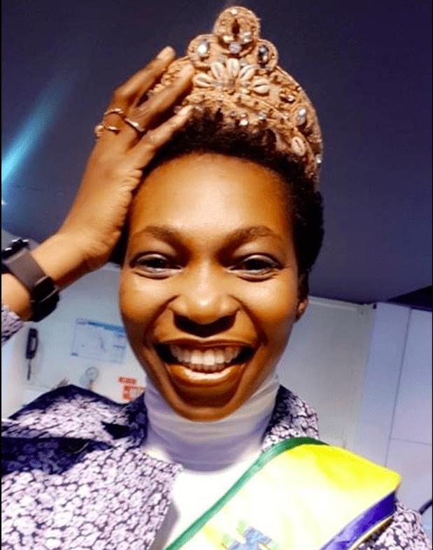 Miss Gabon, auto-proclamée «Je suis là jusqu'en fin 2019.»