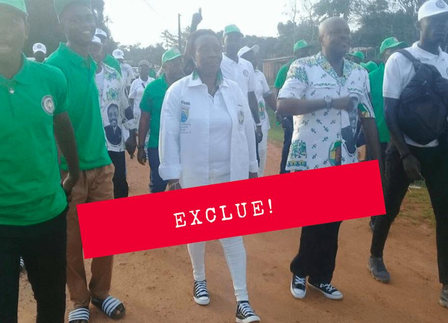 Gabon: l'honorable Joséphine Andeme Manfoumbi exclue du PDG !