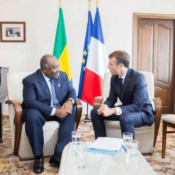 « On est avec lui » Emmanuel Macron réaffirme son soutien à Ali Bongo Ondimba