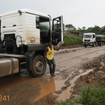 Libreville – Kango: L'entreprise China State mise en demeure de reprendre les travaux sous 8 jours.