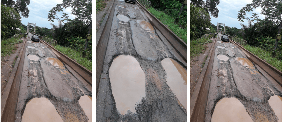 Pont d'Ebel Abanga : En attendant un accident mortel !