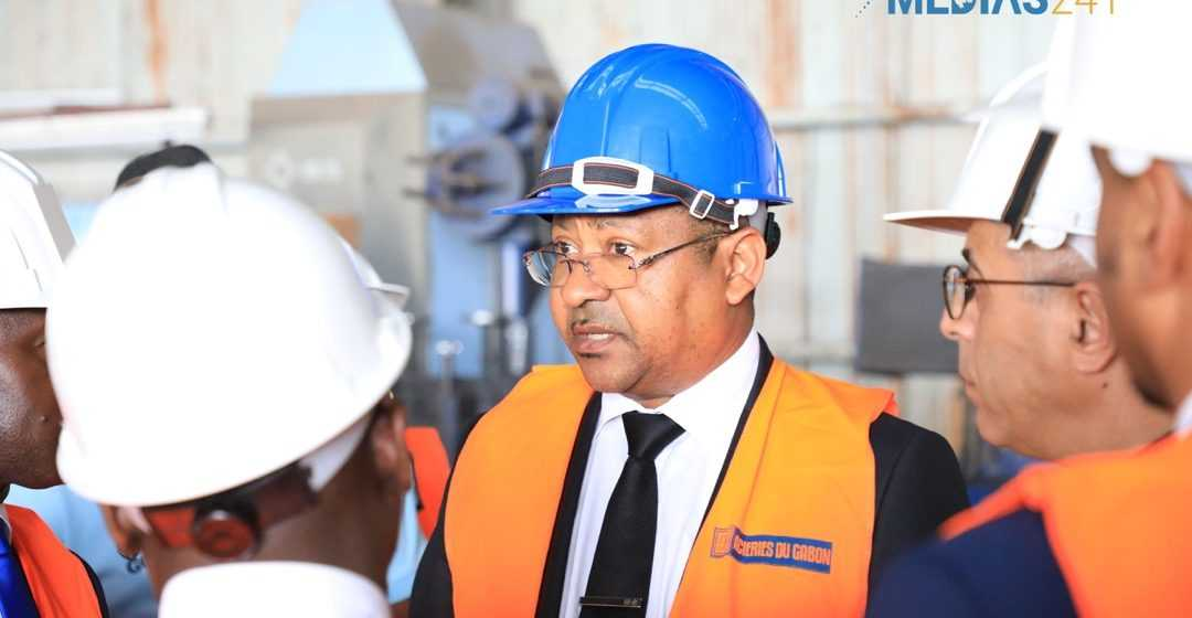 GABON / Industries: Jean-Marie Ogandaga à la ZES de Nkok