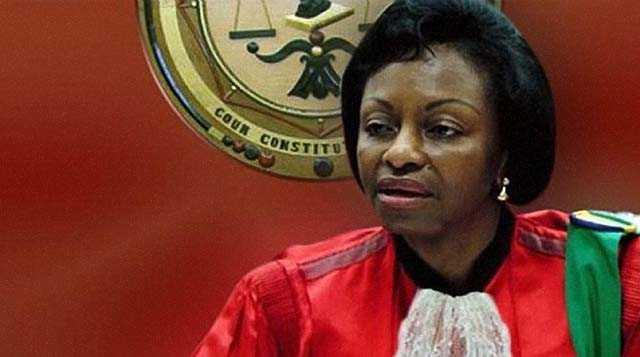 MBORANTSUO DONNE L'EXEMPLE À LA COUR CONSTITUTIONELLE CENTRAFRICAINE