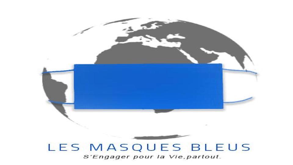 COVID-19 : LES MASQUES BLEUS MOBILISÉS POUR L'ÉDUCATION