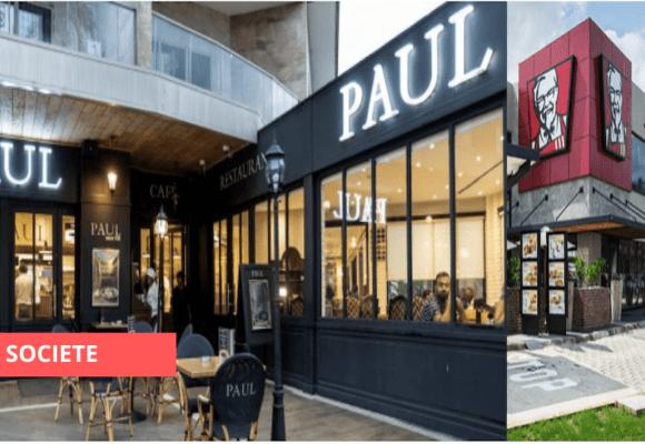 PAUL ET KFC GABON FERMÉS POUR « MAINTENANCE »