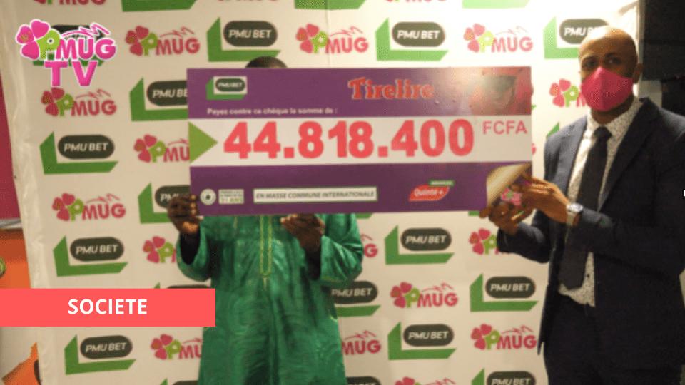 PMUG: UN NOUVEAU GAGNANT À 44 818 400 FCFA AU GABON