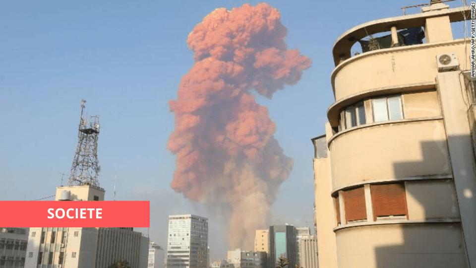 VIDÉO : PLUSIEURS BLESSÉS APRÈS DEUX EXPLOSIONS À BEYROUTH