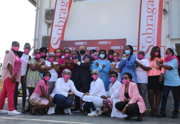 OCTOBRE ROSE : SOBRAGA SOUTIENT LA LUTTE CONTRE LES CANCERS FEMININS