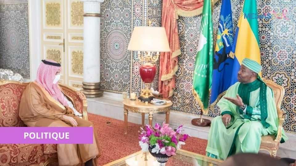 POLITIQUE : LE GABON ET L'ARABIE SAOUDITE CONSOLIDENT LEUR COOPERATION