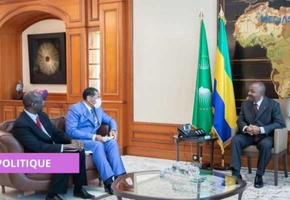 CEMAC : ABBASS MAHAMAT TOLLI ET DANIEL ONA ONDO HÔTES D'ALI BONGO ONDIMBA