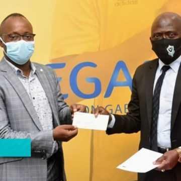 LIGUE DES CHAMPIONS AFRICAINE : LA FEGAFOOT OFFRE 25 MILLIONS DE FCFA AU CLUB BOUENGUIDI SPORT