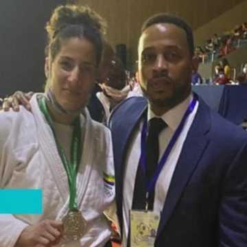 JUDO – CHAMPIONNAT D'AFRIQUE : SARAH MAZOUZ REMPORTE LA MÉDAILLE  D'ARGENT