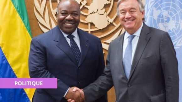 LE GABON EN CAMPAGNE POUR UN SIÈGE AU CONSEIL DE SÉCURITÉ DE L'ONU