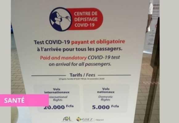 GABON/COVID-19 : LES TESTS À L'AÉROPORT DÉSORMAIS PAYANTS