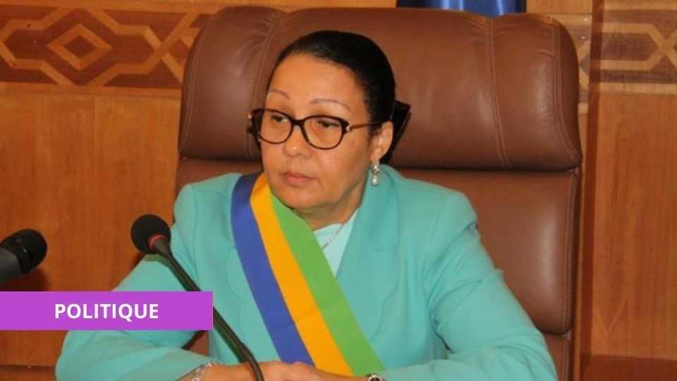 GABON : LUCIE MILEBOU-AUBUSSON REMPILE À LA TÊTE DU SÉNAT