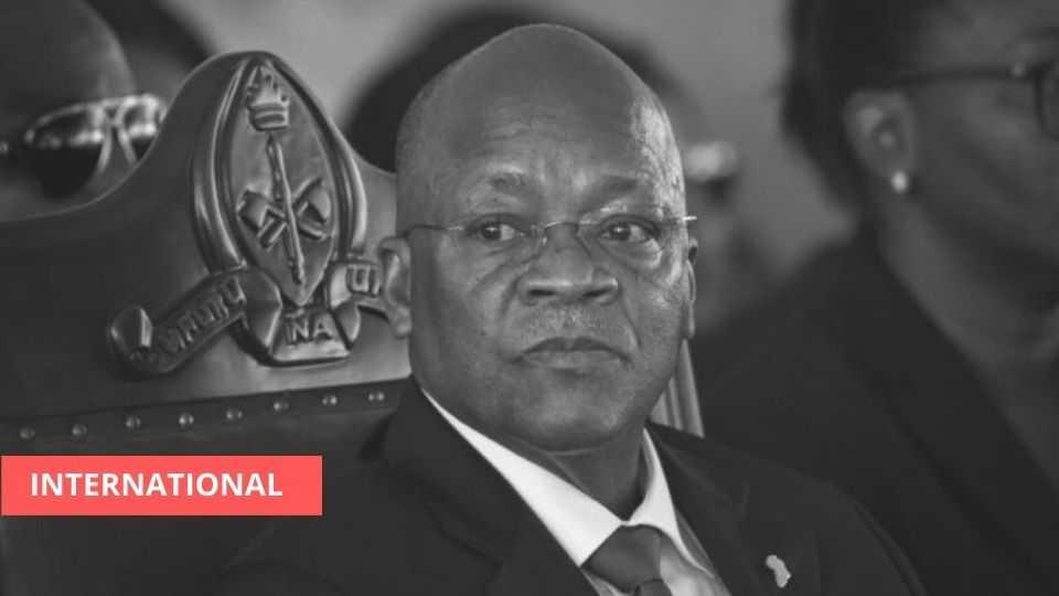 INTERNATIONAL : DÉCÈS DU PRÉSIDENT TANZANIEN JOHN MAGUFULI