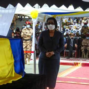 POLITIQUE : ROSE CHRISTIANE OSSOUKA RÉAFFIRME LA SOLIDARITÉ DU GABON AU PEUPLE TCHADIEN
