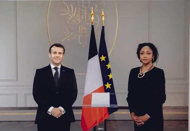 GABON-FRANCE « VOUS POURREZ COMPTER SUR MON APPUI PERSONNEL » EMMANUEL MACRON À LILIANE MASSALA