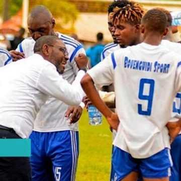 FOOTBALL : UN ATTAQUANT DE BOUENGUIDI SPORT SUSPENDU 1 AN PAR LA CAF POUR AVOIR AGRESSÉ UN ARBITRE