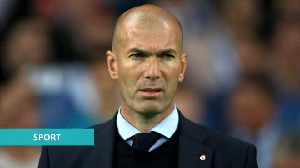 FOOTBALL : ZINEDINE ZIDANE QUITTE LE REAL DE MADRID