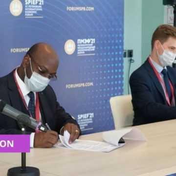 GABON-RUSSIE : SIGNATURE DE DEUX PROTOCOLES D'ACCORD POUR LA PROMOTION DU CADRE DES AFFAIRES ET DES INVESTISSEMENTS