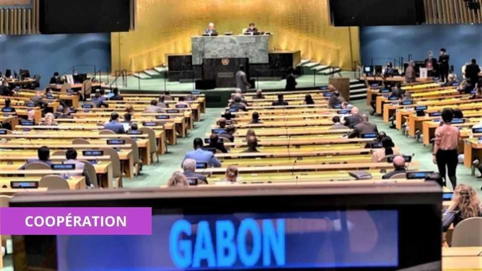 CONSEIL DE SÉCURITÉ DE L'ONU : LE GABON ÉLU MEMBRE NON PERMANENT POUR LA PÉRIODE 2022-2023