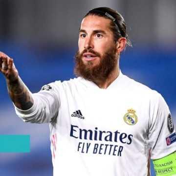 FOOTBALL : SERGIO RAMOS QUITTE LE REAL MADRID
