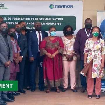 CERTIFICATION FORESTIÈRE : L'AGANOR ÉDIFIÉE SUR LA NORME NATIONALE FSC