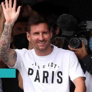 FOOTBALL : LIONEL MESSI EST ENFIN ARRIVÉ À PARIS