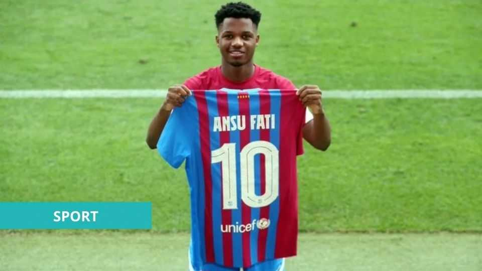FOOTBALL: ANSU FATI LE NOUVEAU « MESSIE » DU BARÇA